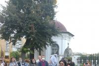 При поддержке грантового конкурса «Православная инициатива» для студентов прошла экскурсия «Орел купеческий и православный»