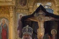 Вечером 11 апреля 2021 г. митрополит Орловский и Болховский Тихон совершил в Успенском (Михаило-Архангельском) соборе Орла третье в нынешнем Великом посту богослужение с чином Пассии