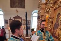 В Субботу Акафиста, праздник Похвалы Пресвятой Богородицы, митрополит Орловский и Болховский Тихон возглавил Литургию в Свято-Введенском монастыре Орла. 17 апреля 2021 г.
