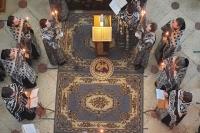 Вечером 18 апреля 2021 г. митрополит Орловский и Болховский Тихон совершил в Иверском храме четвертое в нынешнем Великом посту богослужение с чином Пассии