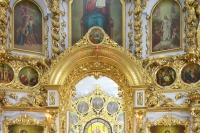 В Великий четверток Страстной Седмицы митрополит Орловский и Болховский Тихон совершил Литургию в Богоявленском соборе Орла. 29 апреля 2021 г.