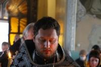 В канун пятницы Страстной седмицы митрополит Орловский и Болховский Тихон совершил утреню Великого Пятка с чтением 12 Евангелий в Богоявленском соборе Орла. 29 апреля 2021 г.