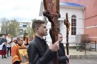 При храме Смоленской иконы Божией матери состоялся Пасхальный праздник отдела церковной благотворительности и социального служения Орловской епархии. 4 мая 2021 г.