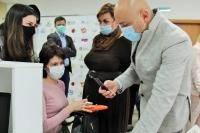 Митрополит Орловский и Болховский Тихон посетил открытие первого Семейного МФЦ в Орле. 6 мая 2021 г.