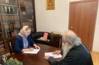 Орловская епархия примет участие в развитии социального семейно-ориентированного кластера в регионе. 25 мая 2021 г.