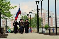 Митрополит Орловский и Болховский Тихон освятил основание мемориальной часовни в парке Победы в Орле. 28 мая 2021 г.