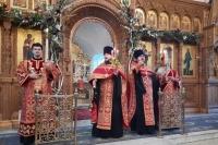 В канун вторника Светлой седмицы митрополит Орловский и Болховский Тихон возглавил великую пасхальную вечерню в храме Иверской иконы Божией Матери Орла. 3 мая 2021 г.