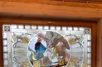 На территории «Завода профессионального оборудования» во Мценске митрополит Орловский и Болховский Тихон освятил часовню в память о погибших рабочих. 6 мая 2021 г.