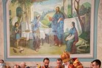 В канун Недели 2-й по Пасхе митрополит Орловский и Болховский Тихон возглавил всенощное бдение в Успенском (Михаило-Архангельском) соборе Орла. 8 мая 2021 г.