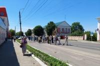 В Болхове прошел Троицкий крестный ход. 20 июня 2021 г.