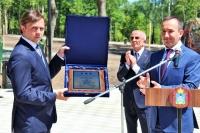 В парке Победы Орла состоялся торжественный митинг, посвященный открытию и освящению мемориала памяти защитникам Отечества. 22 июня 2021 г.
