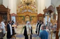 В 40-й день кончины иеродиакона Силуана (Короткова) в храме Иверской иконы Божией Матери состоялись заупокойные богослужения. 28 июня 2021 г.