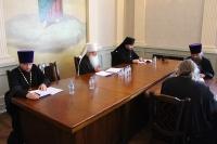 В Орловском епархиальном управлении состоялось заседание Епархиального совета Орловской епархии. 23 июня 2021 г.