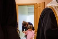 Митрополит Орловский и Болховский Тихон освятил помещение Орловской региональной общественной организации помощи детям с онкогематологическими заболеваниями во имя прп. Серафима Саровского «РАДОСТЬ МОЯ». 1 июня 2021 г.