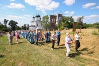 В день празднования Тихвинской иконе Божией Матери митрополит Орловский и Болховский Тихон возглавил Литургию и торжества в Троицком Рождества Богородицы Оптином женском монастыре Болхова. 9 июля 2021 г.