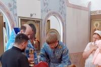 В день празднования иконе Божией Матери «Знамение» Курская-Коренная митрополит Орловский и Болховский Тихон совершил Литургию в храме иконы Божией Матери «Знамение» Курская-Коренная г. Орла. 2 июля 2021 г.