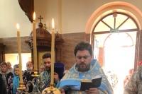 В канун празднования явления иконы Пресвятой Богородицы во граде Казани митрополит Орловский и Болховский Тихон возглавил всенощное бдение в Свято-Успенском мужском монастыре Орла. 20 июля 2021 г.