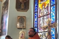 В канун празднования памяти пророка Илии митрополит Орловский и Болховский Тихон совершил всенощное бдение в Николо-Песковском (Ильинском) храме Орла. 1 августа 2021 г.