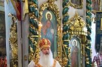 В день празднования памяти пророка Илии митрополит Орловский и Болховский Тихон совершил Литургию в Николо-Песковском (Ильинском) храме Орла. 2 августа 2021 г.
