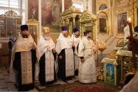 В день своего тезоименитства 26 августа 2021 г. митрополит Орловский и Болховский Тихон совершил богослужения в Ахтырском соборе