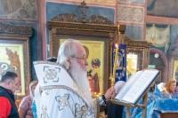 Митрополит Орловский и Болховский Тихон совершил в Свято-Успенском мужском монастыре города Орла утреню с чином погребения Пресвятой Богородицы. 29 августа 2021 г.