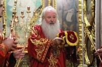 В день памяти Усекновения главы Пророка, Предтечи и Крестителя Господня Иоанна, митрополит Орловский и Болховский Тихон возглавил Божественную литургию в храме святого Иоанна Крестителя в городе Орле. 11 сентября 2021 г.