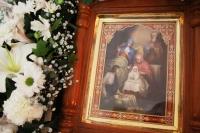 Митрополит Орловский и Болховский Тихон совершил праздничные богослужения в храме иконы Божией Матери «Знамение» Курская-Коренная города Орла. 21 сентября 2021 г.