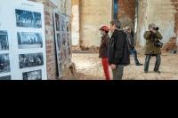 В верхнем храме Спасо-Преображенского собора Болхова открылась фотовыставка. 14 октября 2021 г.
