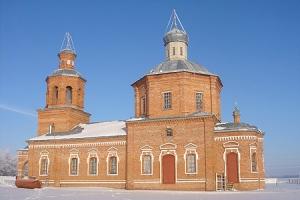 Храм святых апостолов Петра и Павла п.Колпна