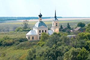 Храм Казанской иконы Божией Матери с. Кологривово
