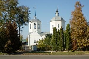 Храм Рождества Пресвятой Богородицы п. Глазуновка
