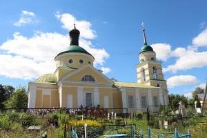 Никитский храм с. Солнцево