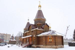 Казанский храм п. Стрелецкий