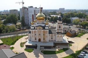 Гарнизонный храм Казанской иконы Божией Матери при Академии ФСО России в городе Орле (строящийся)