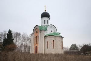 Храм великомученика Димитрия Солунского с. Новодмитровка