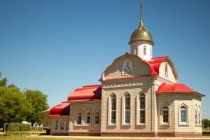 Храм великомученика Георгия Победоносца на территории в/ч 03013 (строящийся)