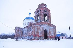 Богоявленский храм д. Верхососенье