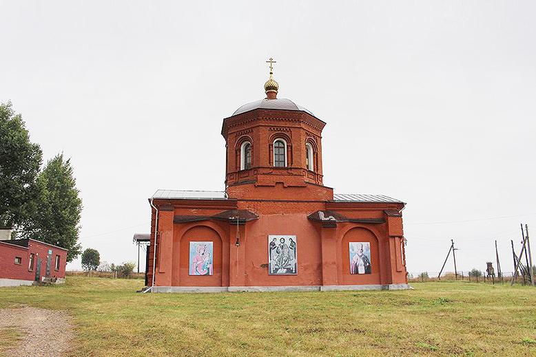 Храм Михаила Архангела с. Плоское