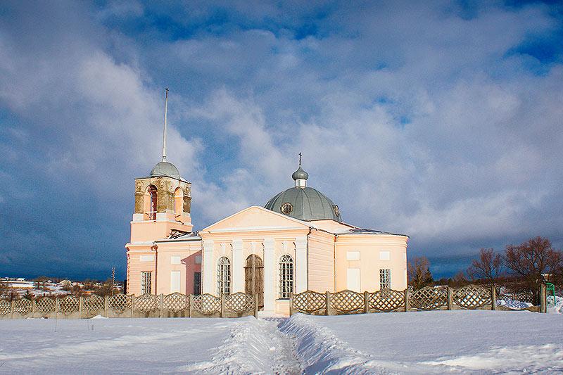 Женский монастырь святой блаженной Ксении Петербургской с. Долбенкино
