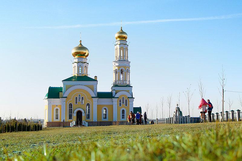 Храм святого благоверного князя Александра Невского с. Большое Сотниково