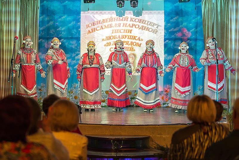 20-летие отметил ансамбль православной и народной песни «Любавушка» из Болхова
