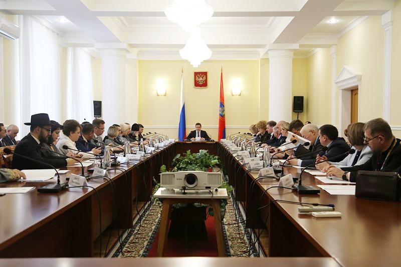 Архипастырь выступил на Координационном совете по вопросам межнациональных и межконфессиональных отношений при Губернаторе Орловской области