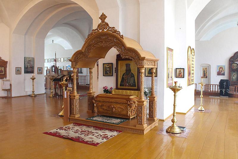 В Болхове у мощей священноисповедника Георгия Коссова теперь молятся каждый день