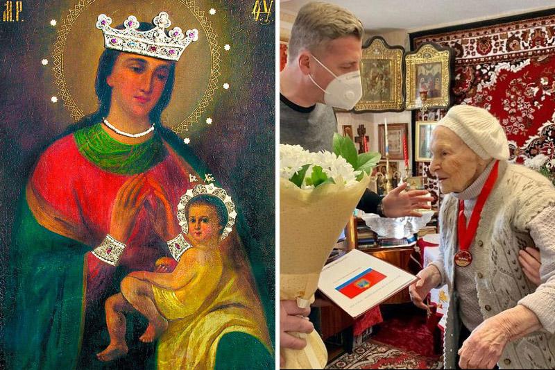 Она сохранила чудотворную Балыкинскую икону: орловчанка Анна Васильевна Цуканова отметила столетие