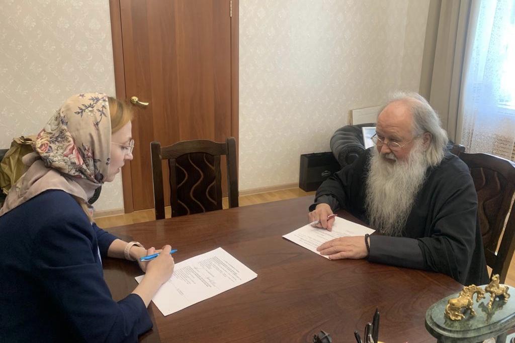 Орловская епархия примет участие в развитии социального семейно-ориентированного кластера в регионе