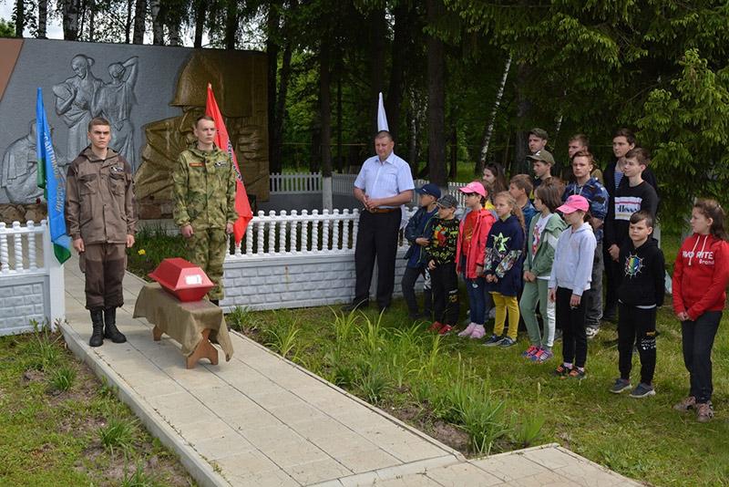 В Спасском-Лутовиново совершена заупокойная лития по герою Великой Отечественной войны