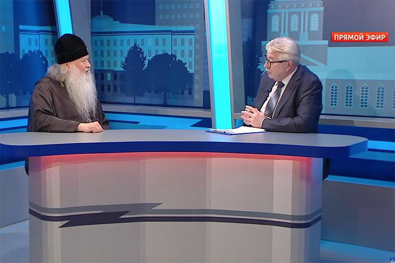 Владыка Тихон рассказал в эфире программы «Контакт» о Соборе Орловских святых