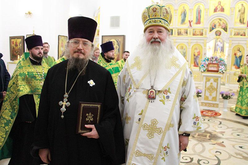 Протоиерей Александр Ордин награжден орденом благоверного князя Даниила Московского третьей степени
