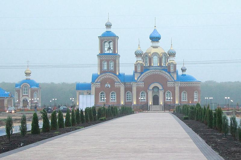 В день отдания Рождества Богородицы торжественно открыт храмовый комплекс подсобного хозяйства «Орловский Колос»