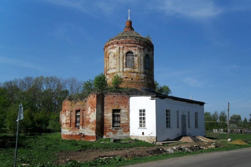 Телеканал «Первый Областной» рассказал о восстановлении старинного храма во Мценском районе